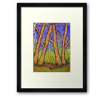Bare Trees Framed Print