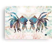 rainbow fish Canvas Print