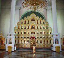 Iconostasis. Vladivostok Cathedral. Russia 2011 by Igor Pozdnyakov
