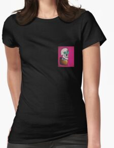 Skeletie Womens Fitted T-Shirt