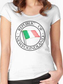 Original Republic of Newfoundland Women's Fitted Scoop T-Shirt