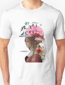 Collage italian Florence spirit renaissance T-Shirt