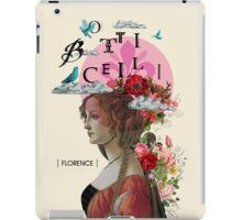 Collage italian Florence spirit renaissance iPad Case/Skin