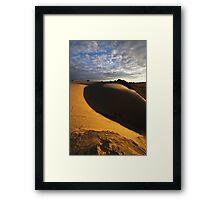 Dune Fringe Framed Print