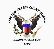 U. S. Coast Guard Semper Paratus Logo Unisex T-Shirt