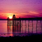Purple sunset by Kathy1