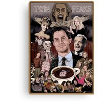 TWIN PEAKS THROUGH THE LOOKING GLASS Canvas Print