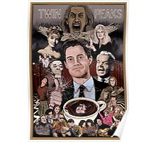 TWIN PEAKS THROUGH THE LOOKING GLASS Poster