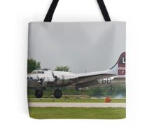 Yankee Lady Arrives Tote Bag