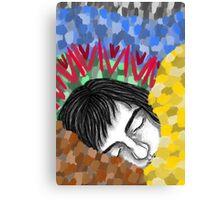 Sleepy head. Canvas Print