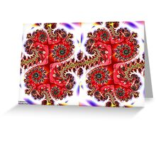 A Pair of Kings Greeting Card