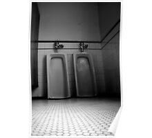 Urinals 2 Poster