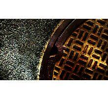 Man Hole Photographic Print