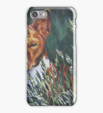 Basenji Fine Art Painting iPhone Case/Skin