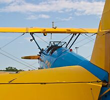 Tail shot of A Boeing Stearman #531 by Henry Plumley