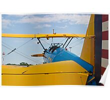 Tail shot of A Boeing Stearman #531 Poster