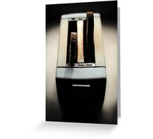toasted morning Greeting Card