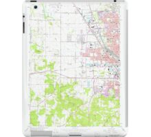 USGS Topo Map Oregon Eugene West 279830 1967 24000 iPad Case/Skin