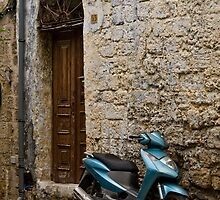 Old Town, Rhodes, Greece by phil decocco