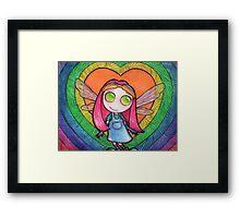 Valentine Fairy Framed Print