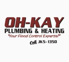 Wet Bandits OH-KAY Plumbing Kids Clothes
