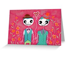 Skelly Love Greeting Card