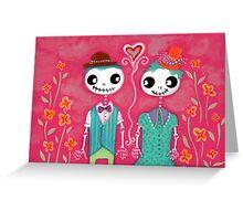 Skelly Love Greeting Card