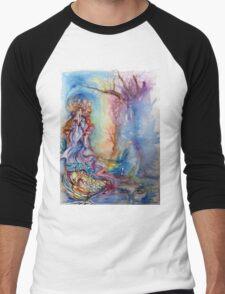 LADY OF LAKE  / Magic and Mystery Men's Baseball ¾ T-Shirt