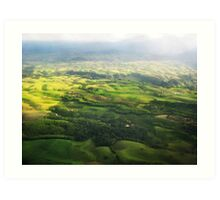Colombia Mountains Art Print
