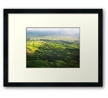 Colombia Mountains Framed Print