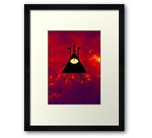 Bill Cipher I Framed Print