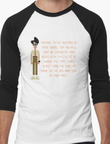 The IT Crowd – Direct from the Oven of Shame Men's Baseball ¾ T-Shirt