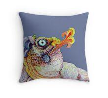 Flower Dragon- Cutout Throw Pillow