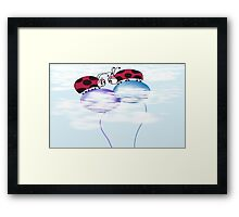 Nowhere But Up From Here! Framed Print