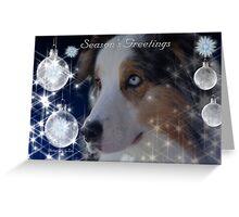 CC80a - Australian Shepherd Dog Greeting Card