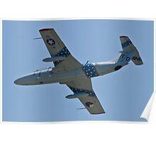 Belly shot of N37DG, Czech Aerovodochody L29 Delfin Poster