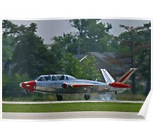 N434F 1963 Potez, Fouga Magister, landing Poster