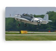 NL9584Z TBM-3 Avenger taking off Canvas Print