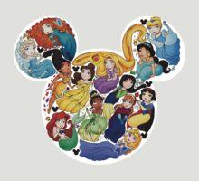 Princess Mickey Ears T-Shirt
