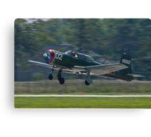 NX62157 CJ-6A Nanchang, Green Dragon, taking off Canvas Print