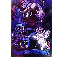 ArcanaPonies - The Devil Photographic Print