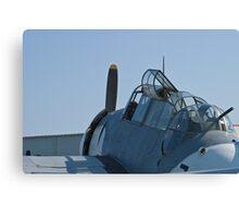 Side shot of NL9584Z TBM-3 Avenger Canvas Print