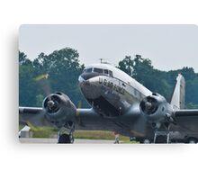 Tight shot of 44-76716, C-47B Skytrain Canvas Print