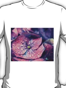 Purple Flower After the Rain T-Shirt