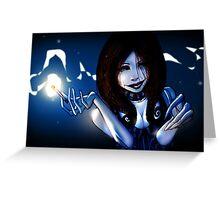 Vera Bleu Greeting Card