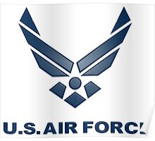 U.  S. Air Force Symbol Poster