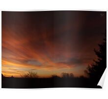 Early Morning Beauty (Oklahoma Sunrise) Poster