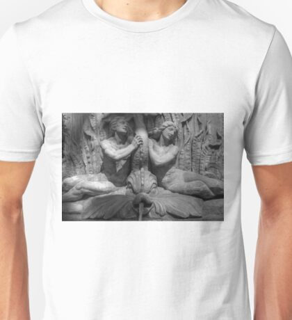 Courthouse Fountain Unisex T-Shirt