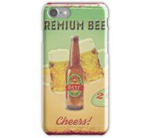 50s Premium Beer Pure Malt  iPhone Case/Skin