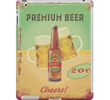 50s Premium Beer Pure Malt  iPad Case/Skin